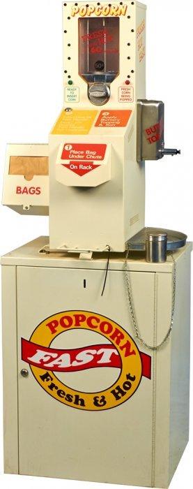 mfg international popcorn machine