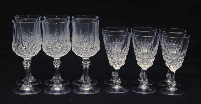 Set of 12 cut waterford style glasses lot 359 - Waterford cognac glasses ...