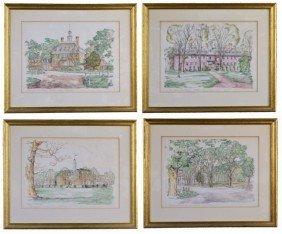 Four Scenes Of Williamsburg