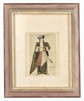 Alexandra Exter (Rus, 1884-1949)  Costume Design