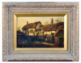 Raymond Dearn Painting Of Cottage
