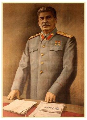 Unidentified Artist [s.s]. Stalin, 1948.