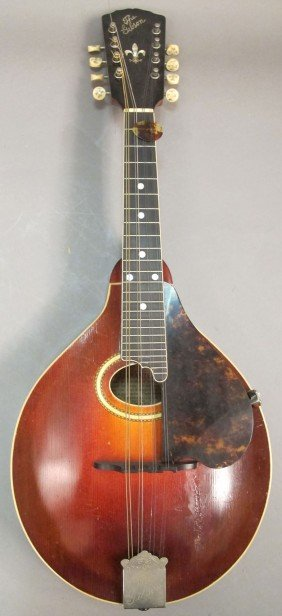 EARLY GIBSON MANDOLIN Note: With Original Case Est