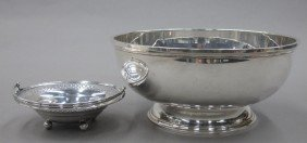LOT OF (2) STERLING SILVER BOWLS Weight- 25 Tro