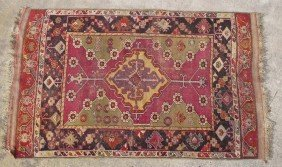 "CAUCASIAN TRIBAL CARPET Size- 46"" X 70"""