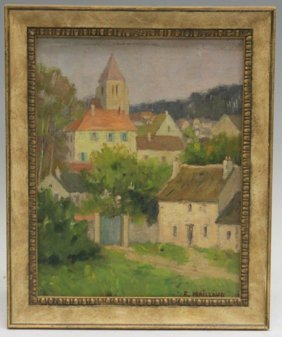 Fernand Maillaud, Oil On Canvas