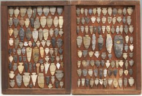 Native American Arrowheads Collection, 170pcs
