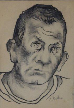 Ellwood Graham, Drawing Of John Steinbeck