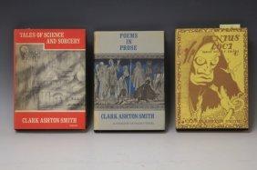 Lot Of (3) Clark Ashton Smith Books, 1948 & 1964