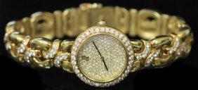 Audemars Piguet 18kt Diamond Wristwatch