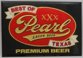 Pearl Beer Sign