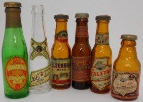 Lot Of Assorted Mini Beer Bottles