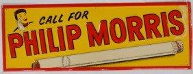 Philip Morris Sign