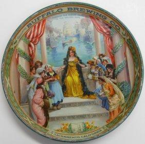 Buffalo Brewing Co. Tray 1915