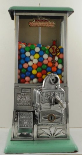 Original One Cent / Penny Master Gumball Machine