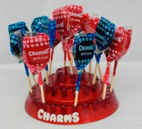 Charms Lollipop Counter Display