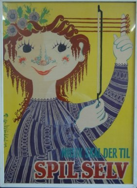 Bjorn Winblad, 1949 Music Poster
