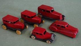 5 Wyandotte Toy Cars