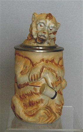Porcelain Monkey Stein