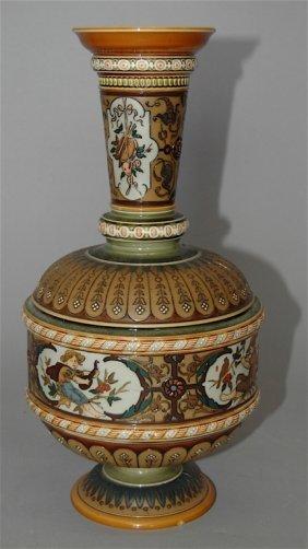Mettlach Vase # 1591