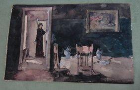 Stuart Davis, 1894-1964, Watercolor