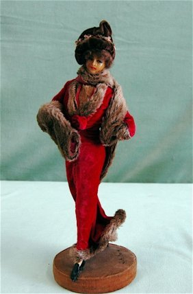Lafitte & Desirat Fashion Wax Doll
