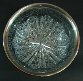 American Brilliant Period Cut Glass Bowl