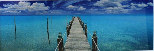 Peter Lik Quot Tranquil Blue Quot Limited Edition Lot 112