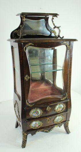 Table Top Miniature Curio Cabinet