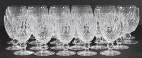 "Waterford Crystal Stemware ""colleen"" 23"