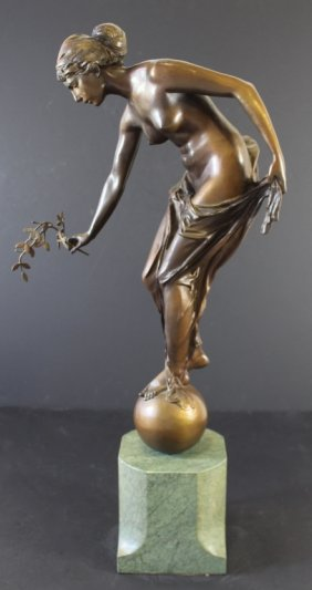 German Bronze By Ernst Wenck