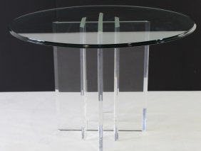 Jeffrey Bigelow, Modern Lucite Table