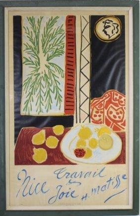 Henri Matisse, Advertising Travel Poster