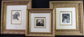 Three Original Etchings