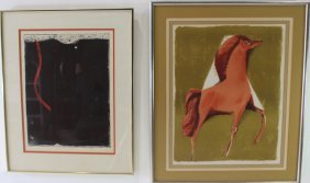 Two Mid-century Lithographs