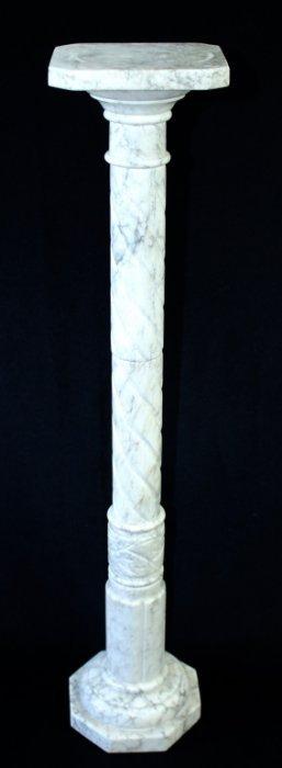 White Marble Pedestal