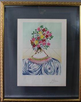 "Salvador Dali, ""flowering Of Inspiration"""