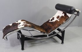 Le Corbusier For Cassina Chaise Lounge Lc/4