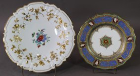 Two Pieces Continental Porcelain