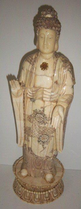 Large Bone Buddah