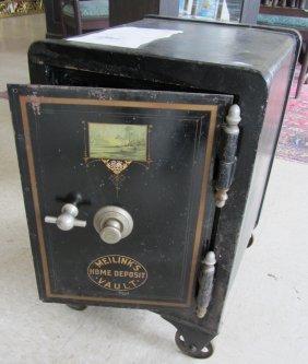 Late 19th C. Meilinks Home Deposit Vault