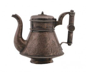 Nineteenth-century Russian Silver Tea Pot