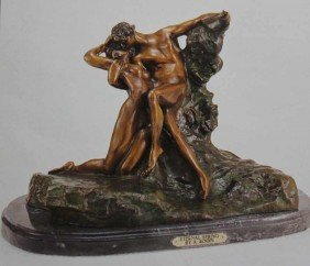 """ETERNAL SPRING"" BRONZE SCULPTURE - RODIN"