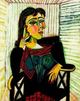 "PICASSO ""PORTRAIT OF DORA MAAR SEATED"""