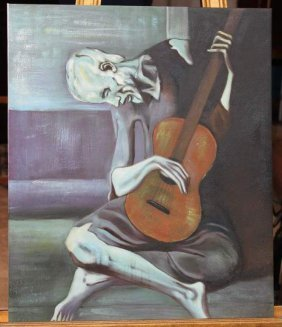 PICASSO - OIL ON CANVAS - REPRODUCTION