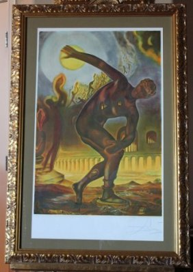 "DALI ""VICTORIOUS ATHLETE"" - HAND SIGNED"