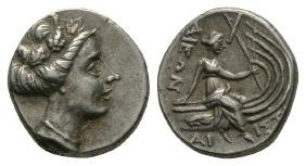 Ancient Greek Coins - Histiaea - Nymph Tetrobol