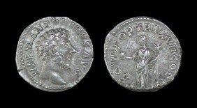 Roman Marcus Aurelius - Providentia - Denarius