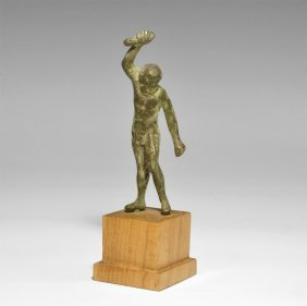 Roman Style Bronze Jupiter Figure