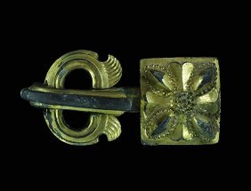 Byzantine Massive Buckle With Plate